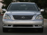 Pictures of Lexus LS 430 (UCF30) 2003–06