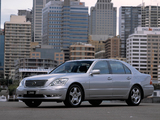 Pictures of Lexus LS 430 AU-spec (UCF30) 2003–06