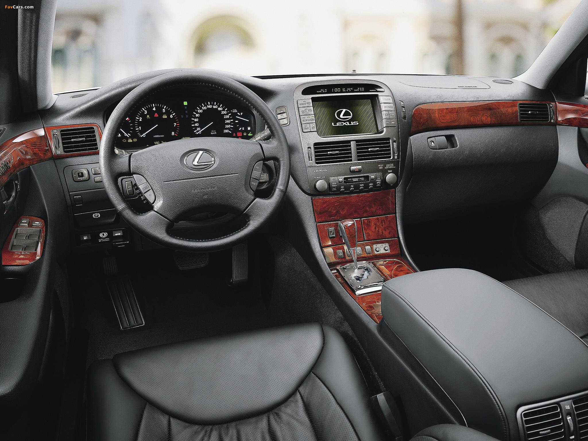 Pictures of Lexus LS 430 EU-spec (UCF30) 2003–06 (2048 x 1536)