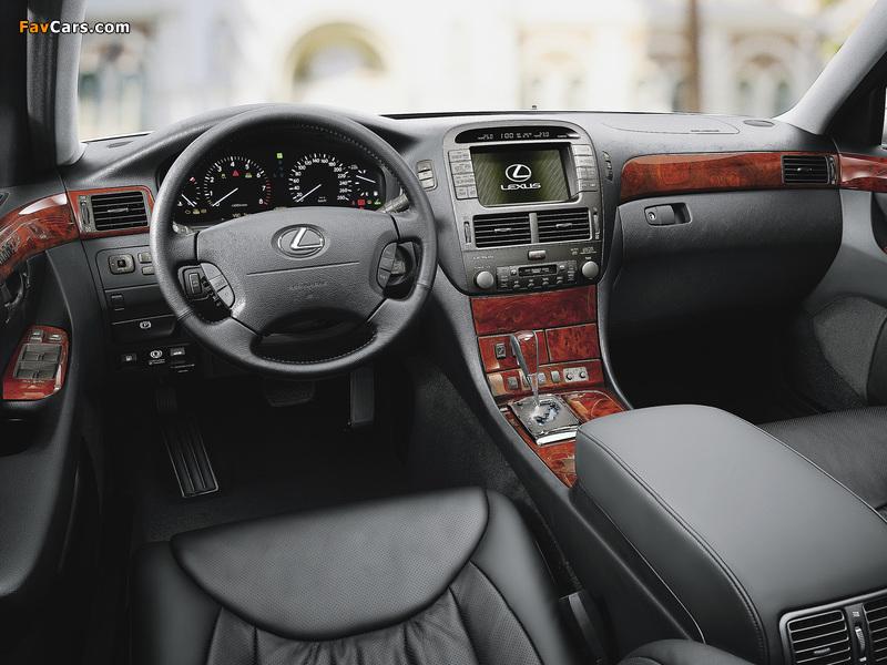 Pictures of Lexus LS 430 EU-spec (UCF30) 2003–06 (800 x 600)
