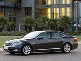 Pictures of Lexus LS 460 ZA-spec (USF40) 2006–09