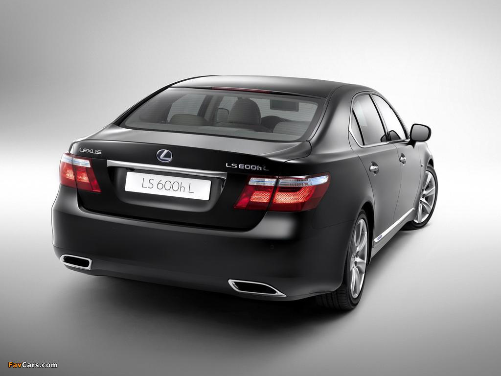 Pictures of Lexus LS 600h L (UVF45) 2007–09 (1024 x 768)