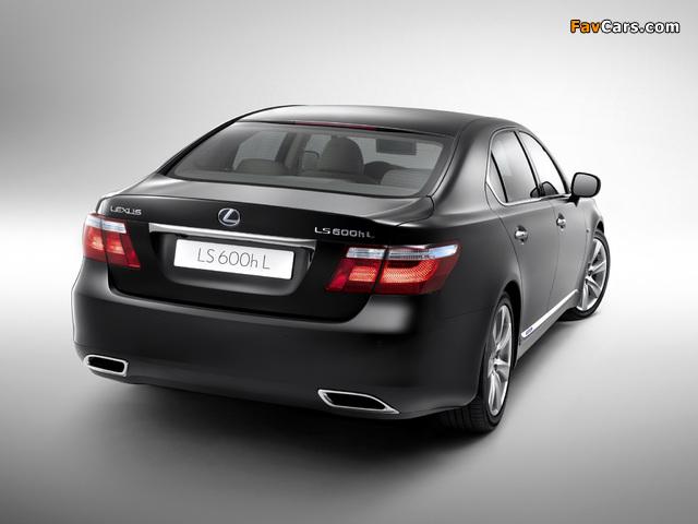 Pictures of Lexus LS 600h L (UVF45) 2007–09 (640 x 480)