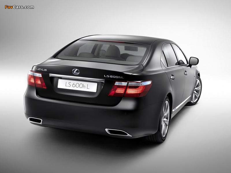 Pictures of Lexus LS 600h L (UVF45) 2007–09 (800 x 600)
