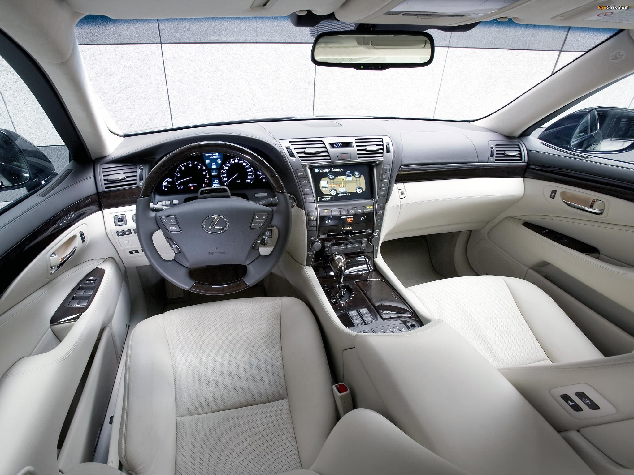 Pictures of Lexus LS 600h EU-spec (UVF45) 2007–09 (2048 x 1536)