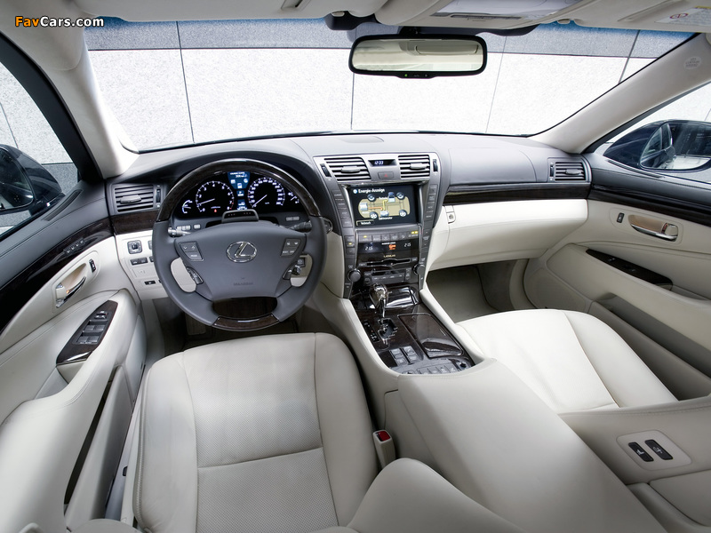 Pictures of Lexus LS 600h EU-spec (UVF45) 2007–09 (800 x 600)