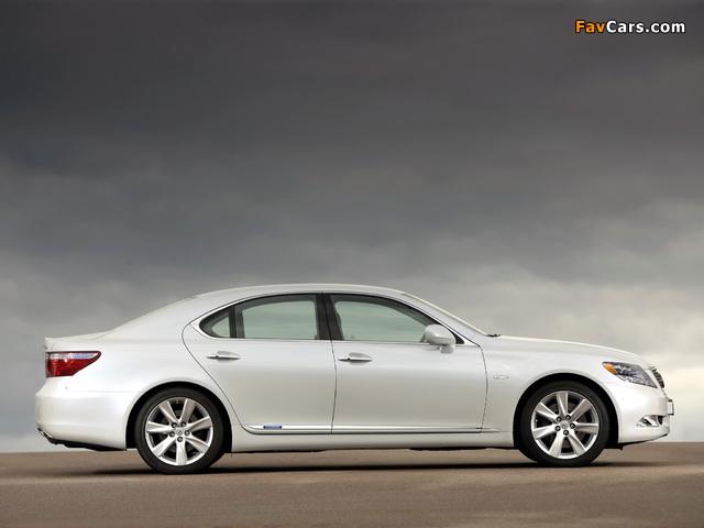 Pictures of Lexus LS 600h EU-spec (UVF45) 2007–09 (640 x 480)