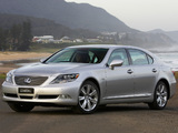 Pictures of Lexus LS 600h L AU-spec (UVF45) 2007–09