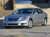 Pictures of Lexus LS 460L AWD (USF41) 2009–12