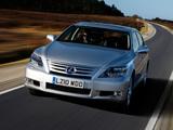Pictures of Lexus LS 600h L UK-spec (UVF45) 2009–12