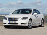 Pictures of Lexus LS 600h EU-spec (UVF45) 2009–12
