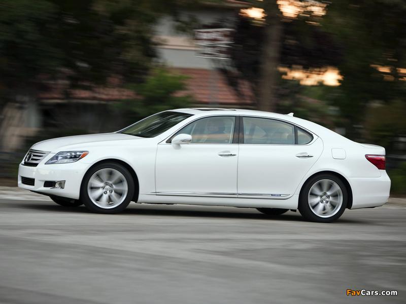 Pictures of Lexus LS 600h L (UVF45) 2009–12 (800 x 600)