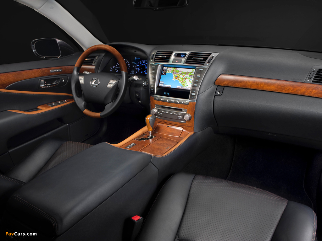 Pictures of Lexus LS 460 Touring Edition (USF40) 2011–12 (1024 x 768)