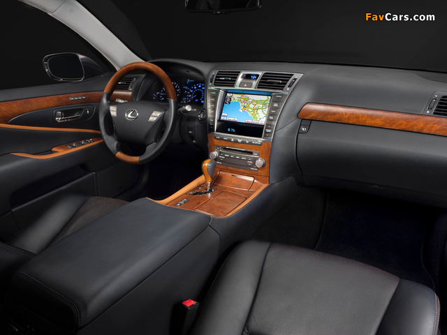 Pictures of Lexus LS 460 Touring Edition (USF40) 2011–12 (640 x 480)
