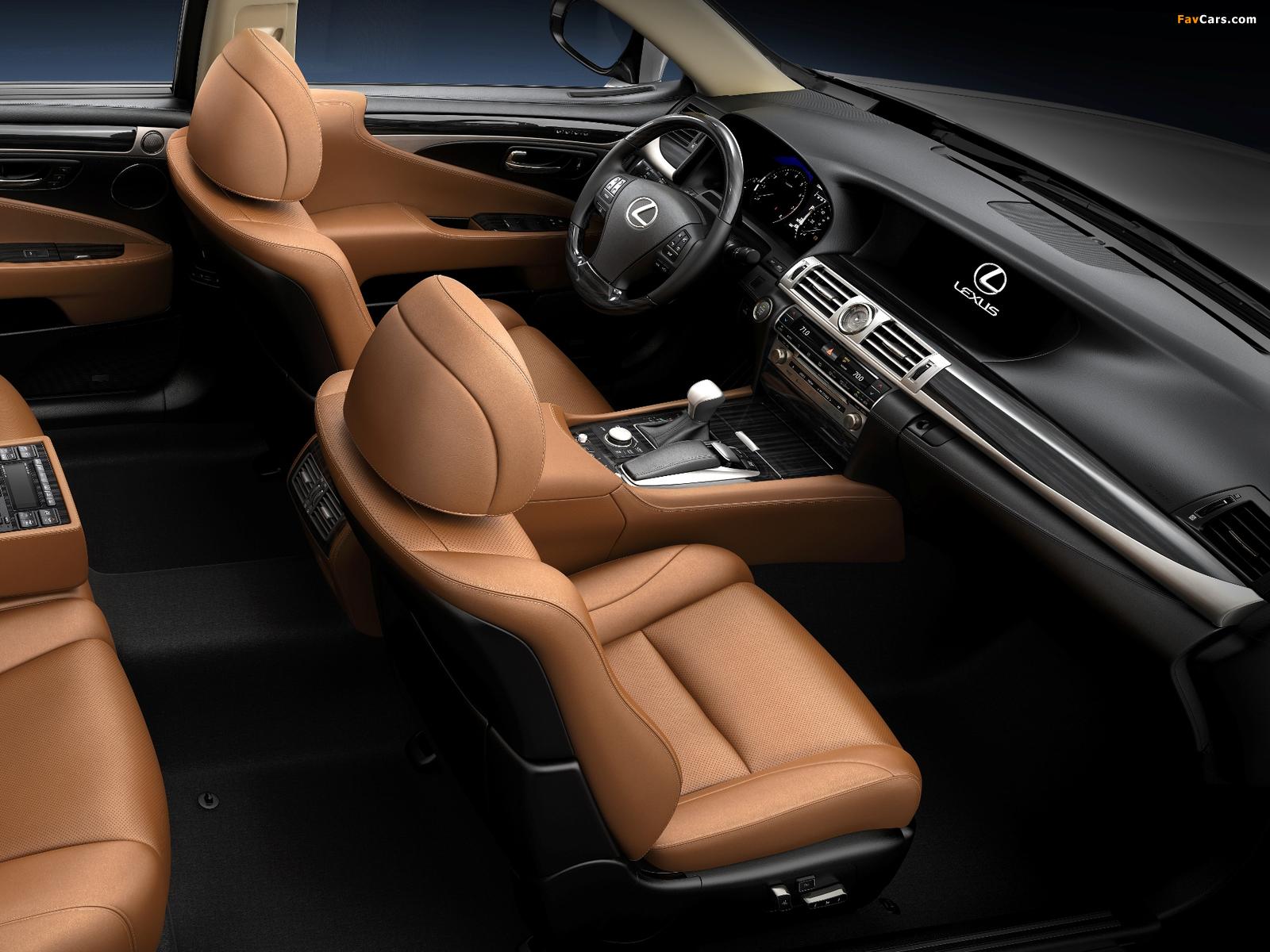 Pictures of Lexus LS 460 2012 (1600 x 1200)