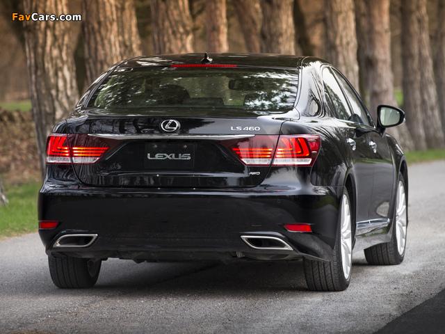 Pictures of Lexus LS 460 AWD 2012 (640 x 480)