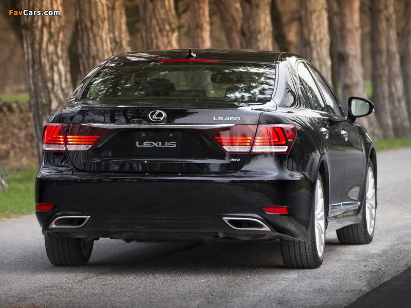 Pictures of Lexus LS 460 AWD 2012 (800 x 600)