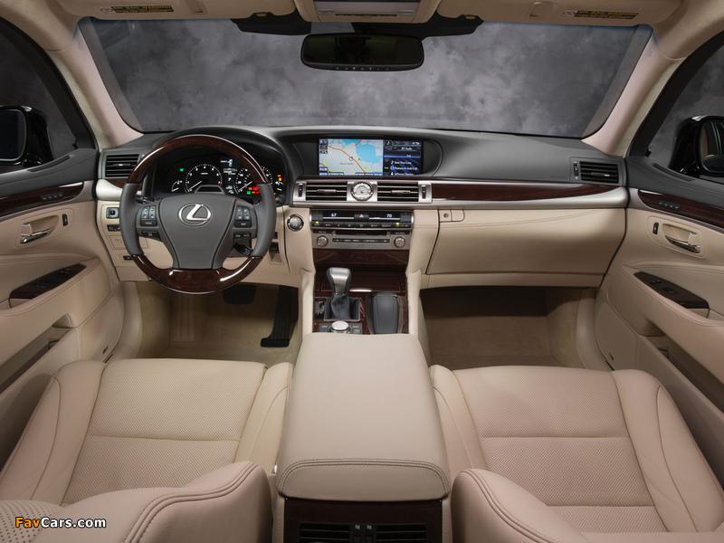 Pictures of Lexus LS 460 2012 (800 x 600)