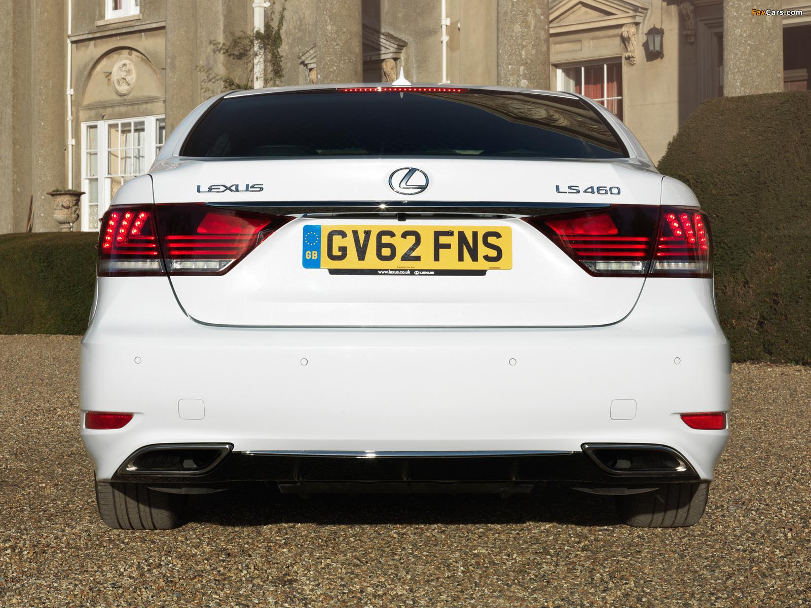 Pictures of Lexus LS 460 F-Sport UK-spec 2012 (1600 x 1200)