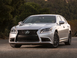 Pictures of Lexus LS 460 F-Sport 2012