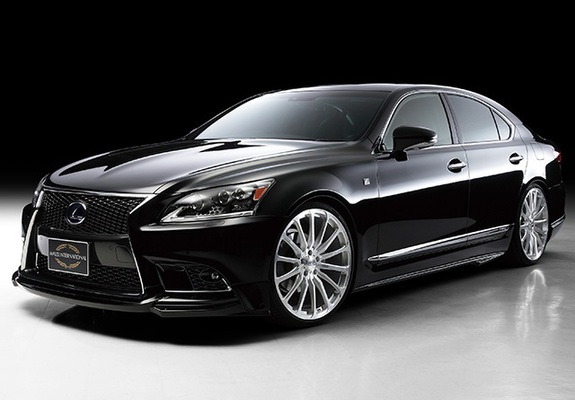 Pictures of WALD Lexus LS 460 F Sport Executive Line (USF40) 2013