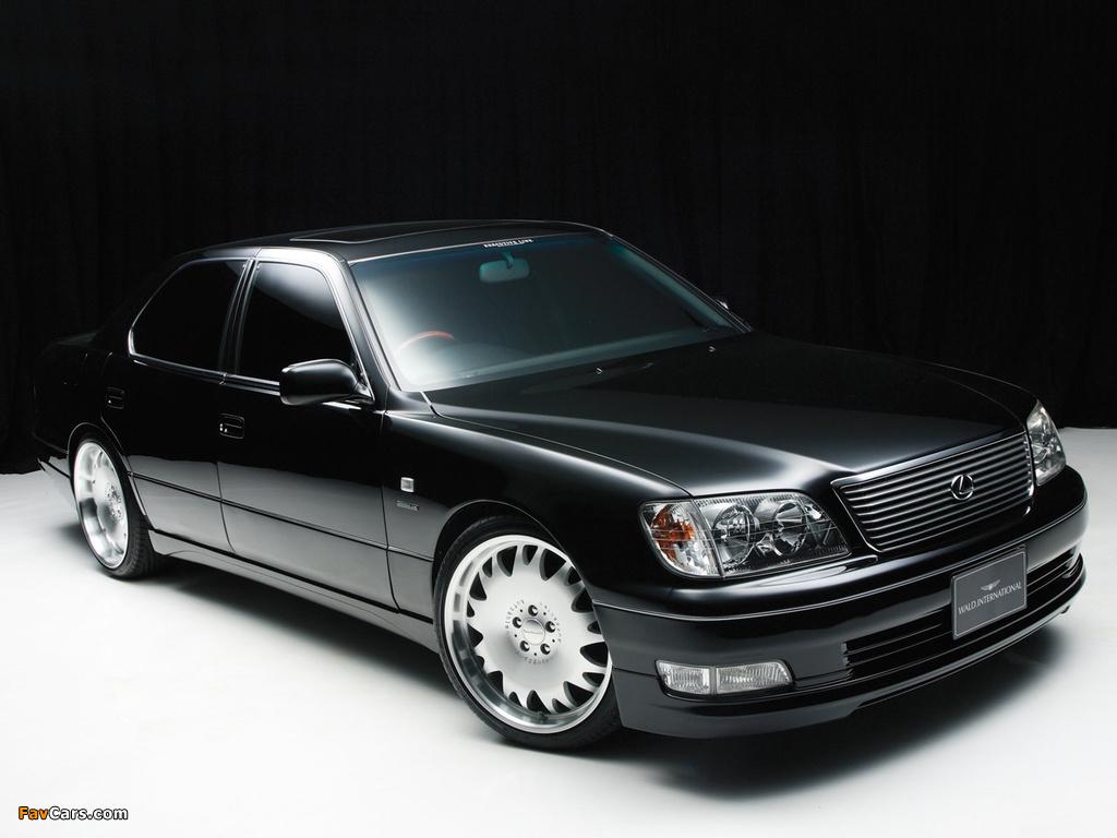 WALD Lexus LS 400 (UCF20) 1997–2000 wallpapers (1024 x 768)