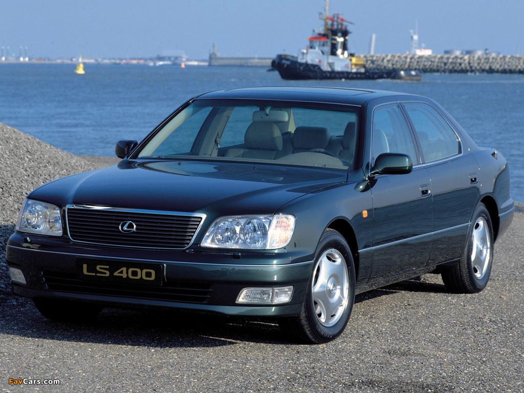 Lexus LS 400 EU-spec (UCF20) 1997–2000 wallpapers (1024 x 768)
