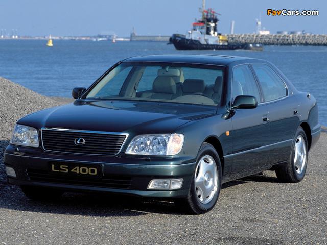 Lexus LS 400 EU-spec (UCF20) 1997–2000 wallpapers (640 x 480)
