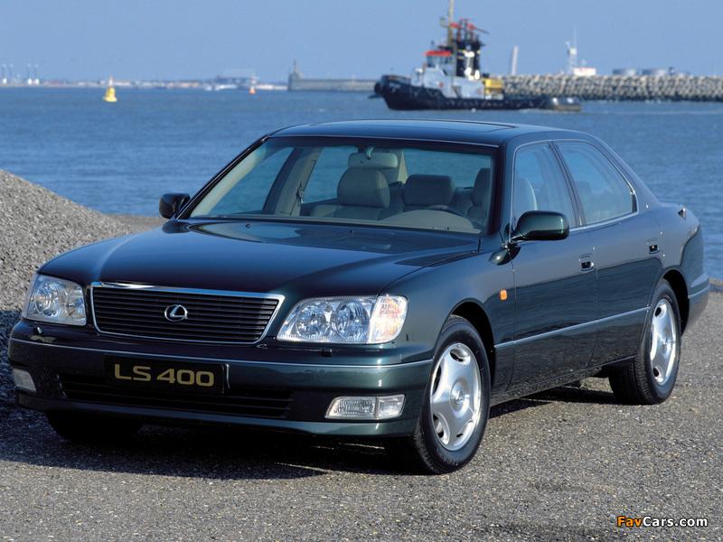Lexus LS 400 EU-spec (UCF20) 1997–2000 wallpapers (800 x 600)