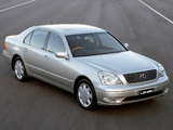 Lexus LS 430 AU-spec (UCF30) 2000–03 wallpapers