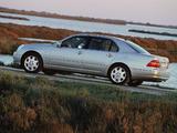 Lexus LS 430 EU-spec (UCF30) 2000–03 wallpapers