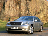 Lexus LS 430 UK-spec (UCF30) 2000–03 wallpapers