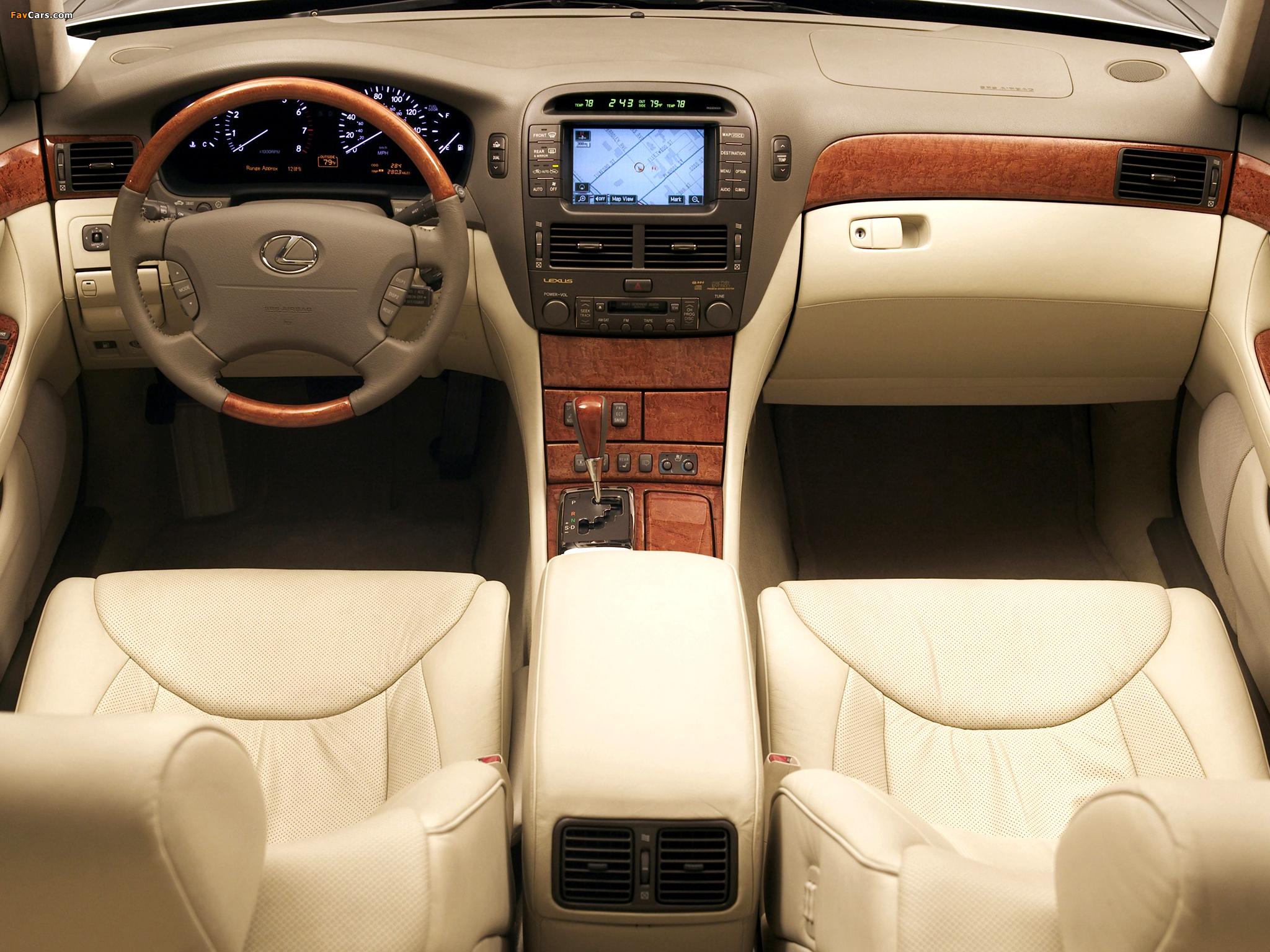 Lexus LS 430 (UCF30) 2000–03 wallpapers (2048 x 1536)