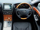 Lexus LS 430 UK-spec (UCF30) 2000–03 wallpapers