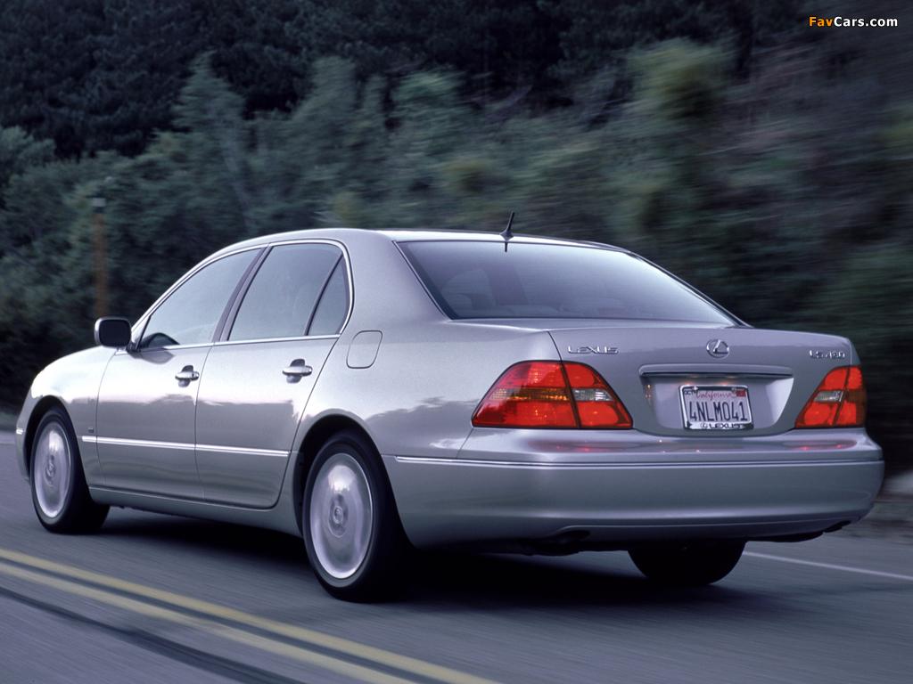 Lexus LS 430 (UCF30) 2000–03 wallpapers (1024 x 768)
