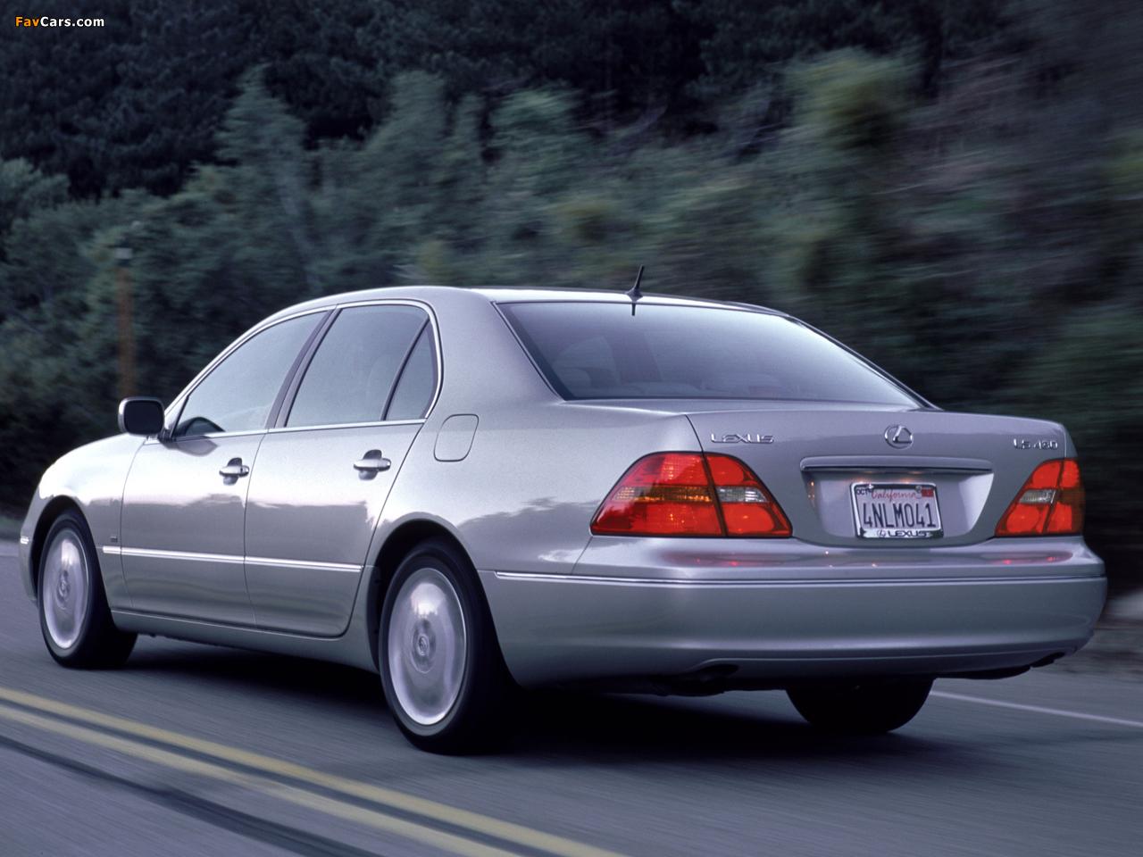Lexus LS 430 (UCF30) 2000–03 wallpapers (1280 x 960)