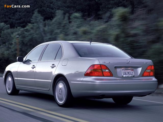 Lexus LS 430 (UCF30) 2000–03 wallpapers (640 x 480)