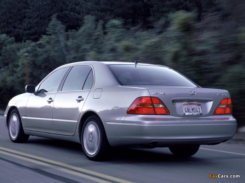 Lexus LS 430 (UCF30) 2000–03 wallpapers (800 x 600)