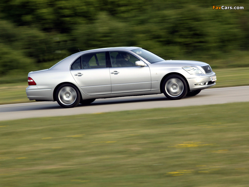 Lexus LS 430 (UCF30) 2003–06 wallpapers (800 x 600)