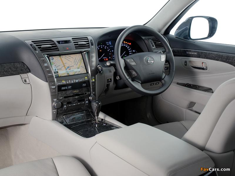 Lexus LS 460 ZA-spec (USF40) 2006–09 wallpapers (800 x 600)
