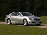 Lexus LS 460 US-spec (USF40) 2006–09 wallpapers
