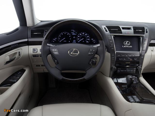 Lexus LS 460 (USF40) 2006–09 wallpapers (640 x 480)