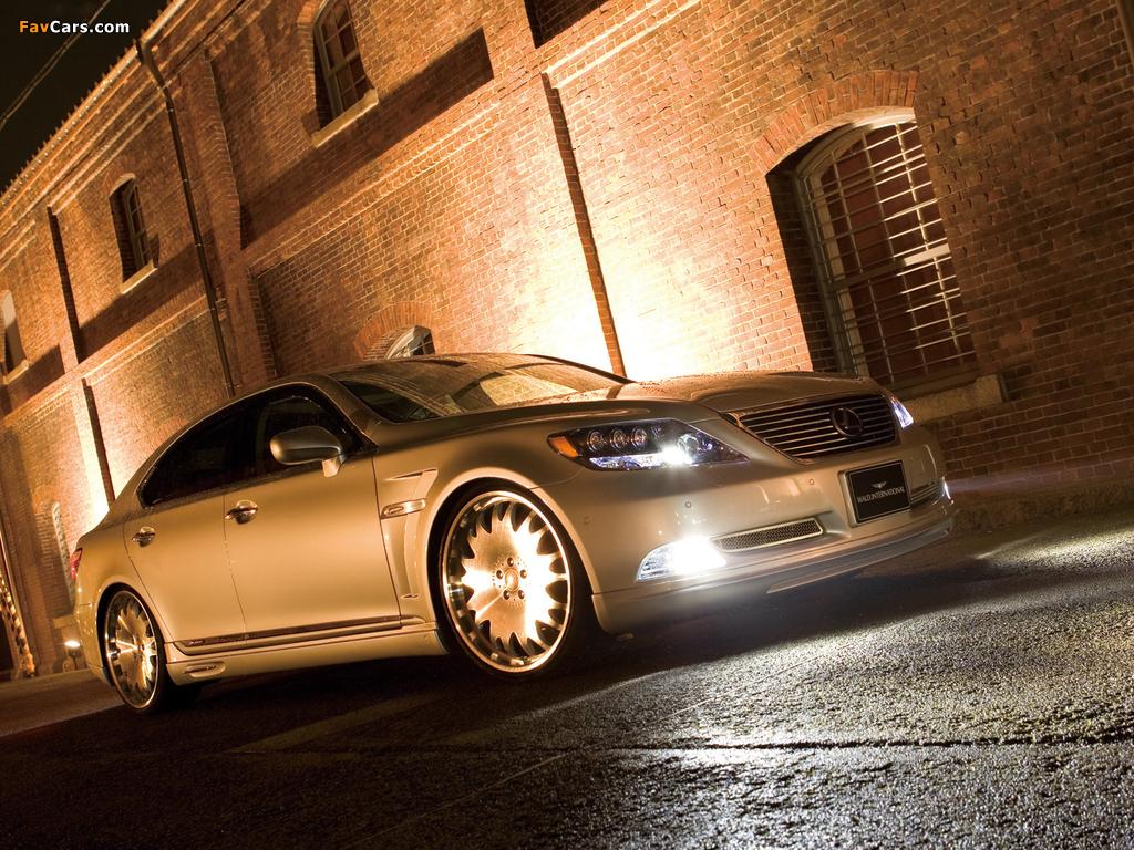 WALD Lexus LS 600h (UVF45) 2007 wallpapers (1024 x 768)