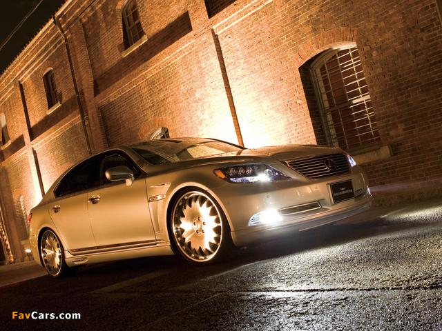 WALD Lexus LS 600h (UVF45) 2007 wallpapers (640 x 480)