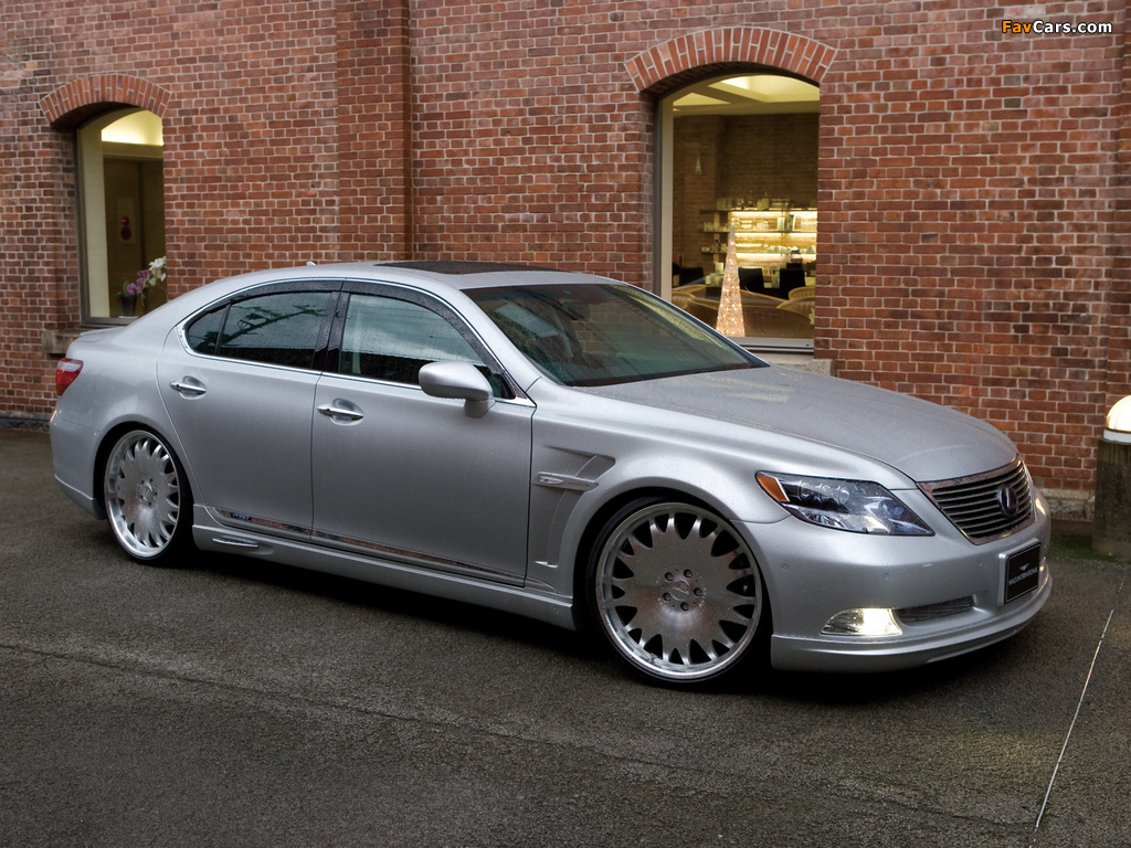 WALD Lexus LS 600h (UVF45) 2007 wallpapers (1024 x 768)