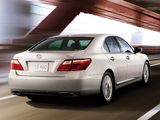 Lexus LS 460 JP-spec (USF40) 2009–12 wallpapers