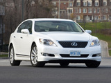 Lexus LS 460 Sport (USF40) 2009–12 wallpapers