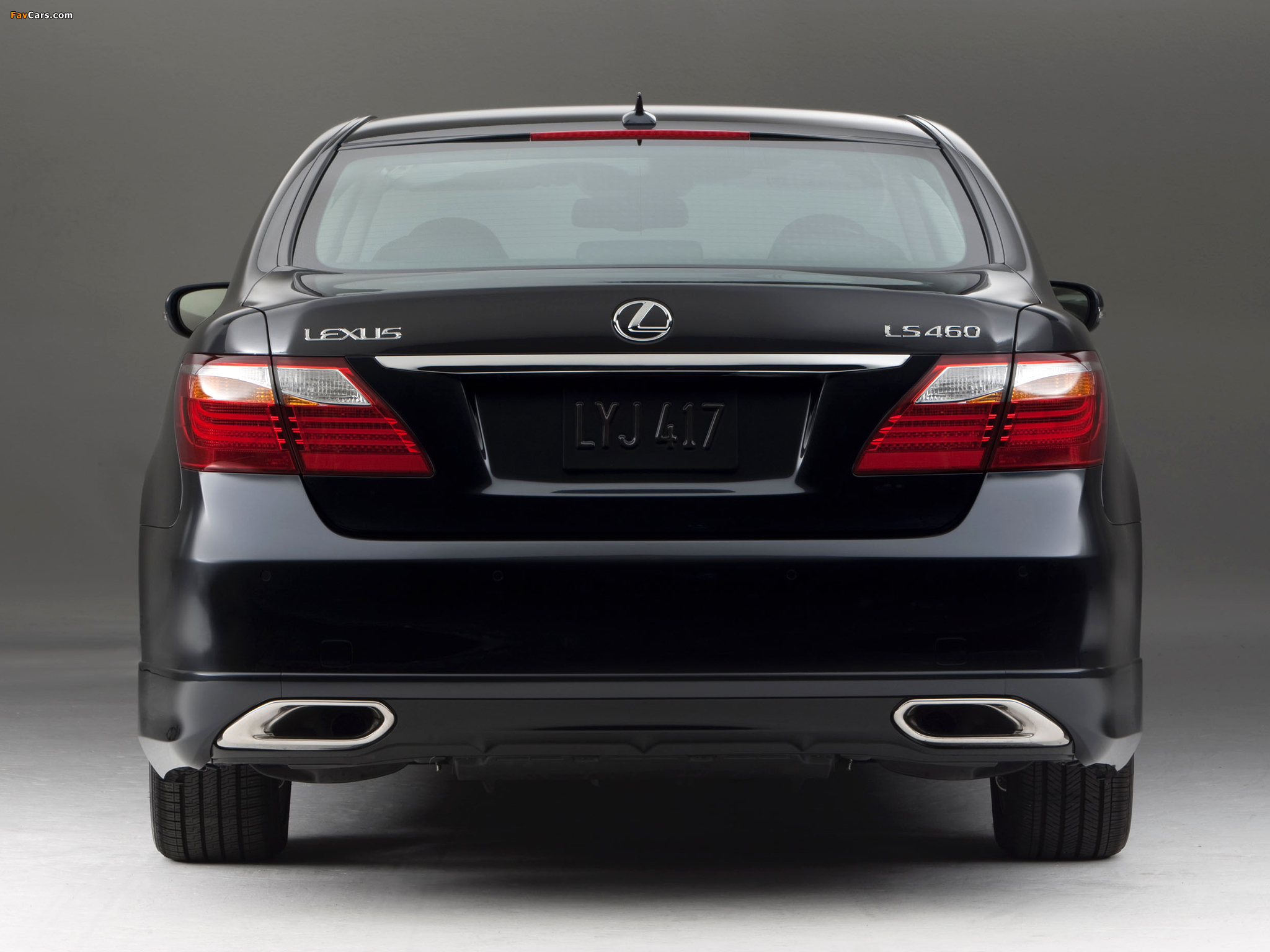 Lexus LS 460 Touring Edition (USF40) 2011–12 wallpapers (2048 x 1536)