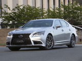 Lexus LS 600h F-Sport AU-spec 2013 wallpapers