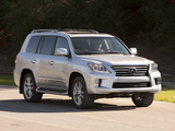 Images of Lexus LX 570 (URJ200) 2012